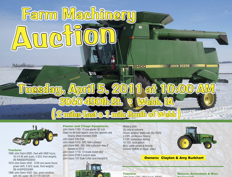 Burkhardt Auction
