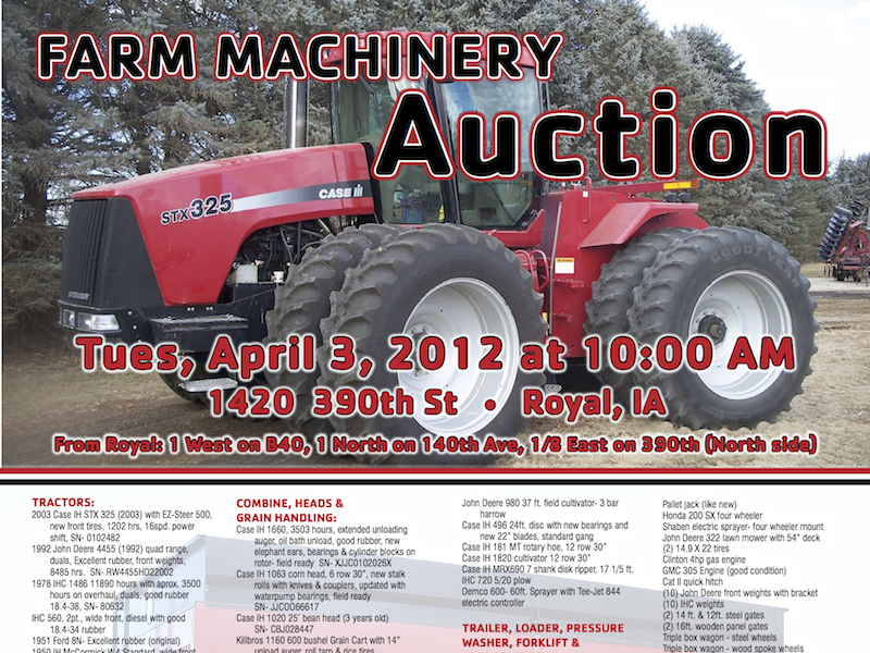 LeClair Auction