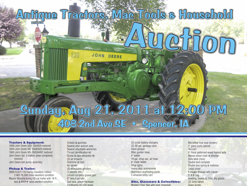 Olsen Auction